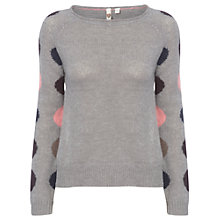 Buy White Stuff Katsu Jumper, Lotus Grey Online at johnlewis.com