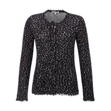 Buy Jigsaw Flecked Zip Pocket Cardigan Online at johnlewis.com