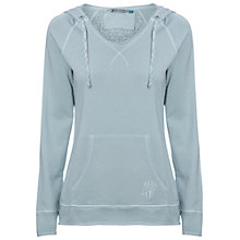 Buy White Stuff Breezy Morning Hoody Jumper, Ocean Breeze Online at johnlewis.com