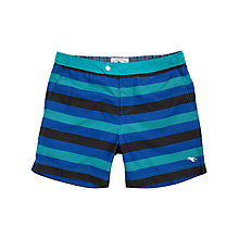 Buy Ted Baker Karriba Block Stripe Swimshorts Online at johnlewis.com