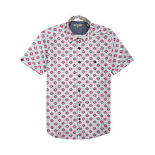 Buy Ted Baker Diageo Geometric Print Short Sleeve Shirt Online at johnlewis.com