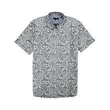 Buy Ted Baker Luwon Pattern Short Sleeve Shirt Online at johnlewis.com