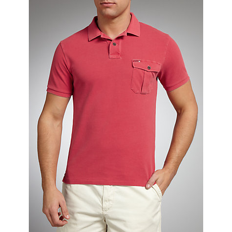 Buy Polo Ralph Lauren Slim Fit Chest Pocket Polo Shirt Online at johnlewis.com