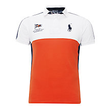 Buy Polo Ralph Lauren Slim Fit Block Colour Polo Shirt Online at johnlewis.com