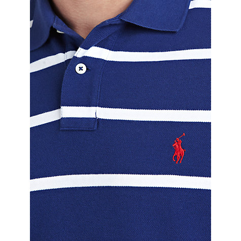 Buy Polo Ralph Lauren Slim Fit Stripe Polo Shirt Online at johnlewis.com
