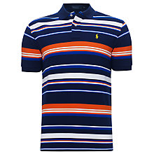 Buy Polo Ralph Lauren Slim Fit Stripe Pattern Polo Shirt Online at johnlewis.com