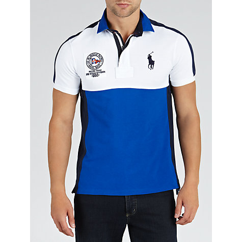 Buy Polo Ralph Lauren Rescue Patrol Slim Polo Shirt Online at johnlewis.com