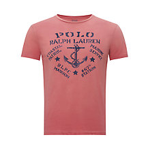 Buy Polo Ralph Lauren Anchor Print T-Shirt Online at johnlewis.com