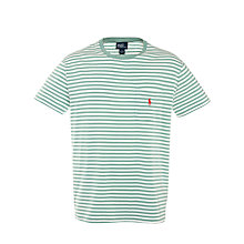 Buy Polo Ralph Lauren Custom Fit Stripe T-Shirt Online at johnlewis.com