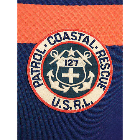 Buy Polo Ralph Lauren Patrol Coastal Rescue Custom Fit Rugby Shirt Online at johnlewis.com