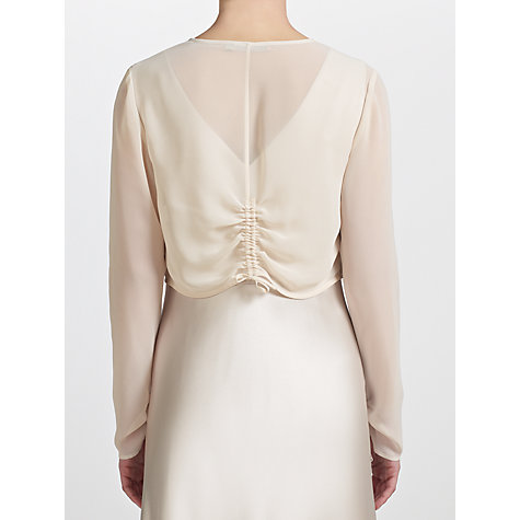 Buy John Lewis Annabel Ruched Shrug Online at johnlewis.com