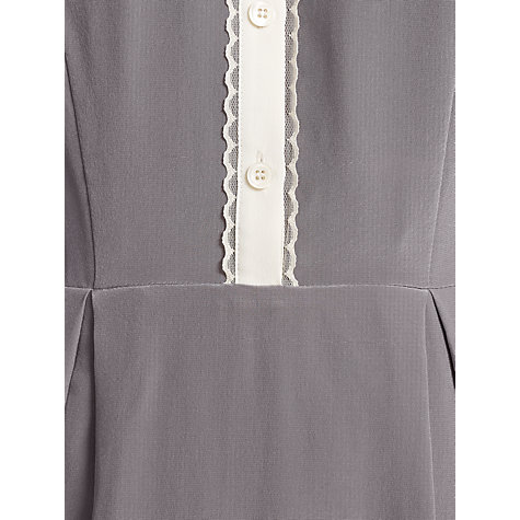 Buy Somerset by Alice Temperley Tipped Shirt Dress, Mink Online at johnlewis.com