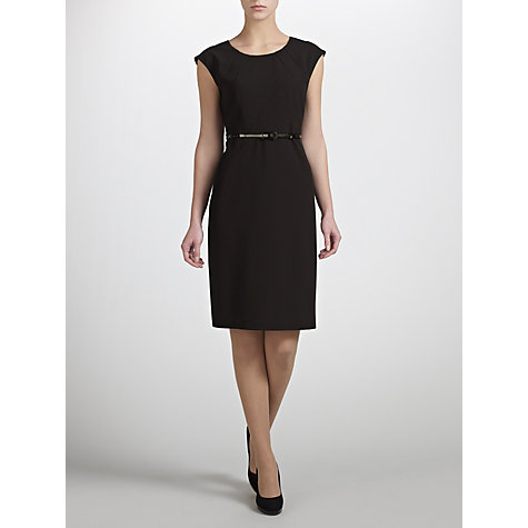 Buy COLLECTION by John Lewis Cairey Tailored Shift Dress, Black Online at johnlewis.com