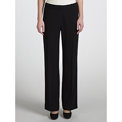 Buy COLLECTION by John Lewis Lillie Wide Leg Tailored Trousers, Black Online at johnlewis.com