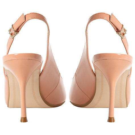 Buy Dune Caddie Point Toe Stiletto Heel Slingback Sandals Online at johnlewis.com