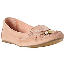 Buy Dune Limor Leather Metal Tipped Tassel Moccasins Online at johnlewis.com