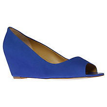 Buy Nine West Mymoon Peep Toe Wedges Online at johnlewis.com