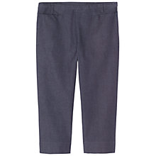 Buy Toast Jess Capri Trousers, Chambray Online at johnlewis.com