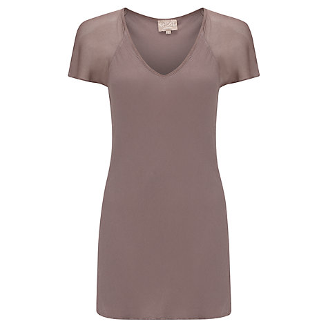 Buy Ghost Angel Crepe Top Online at johnlewis.com