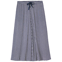 Buy Toast Striped Maxi Skirt, Navy Stripe Online at johnlewis.com