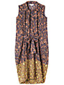 Toast Gabriella Contrast Print Dress, Multi