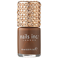 Buy Nails Inc. Prince's Gate Crystal Cap Nail Polish, 10ml Online at johnlewis.com