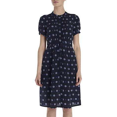 Buy Jigsaw Tie Print Dress Online at johnlewis.com