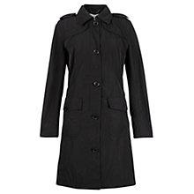 Buy Jigsaw Packaway Trench Coat, Black Online at johnlewis.com