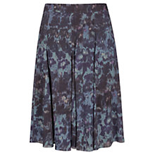 Buy Jigsaw Blurred Floral Print Skirt, Multi Online at johnlewis.com