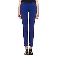 Buy Whistles Anastasia Skinny Jeans, Blue Online at johnlewis.com
