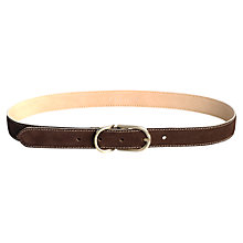 Buy Jigsaw Nubuck Belt Online at johnlewis.com