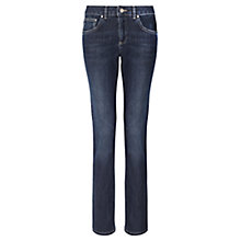 Buy Jigsaw Denim Straight Jeans, Indigo Online at johnlewis.com