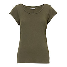 Buy Whistles Seam Back T-Shirt Online at johnlewis.com