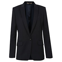 Buy Jigsaw Contemporary Tailored Jacket, Navy Online at johnlewis.com
