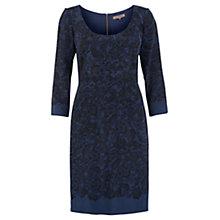 Buy Jigsaw Lace Print Stretch Dress Online at johnlewis.com