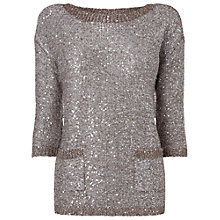 Buy Phase Eight Megan Jumper, Natural Online at johnlewis.com
