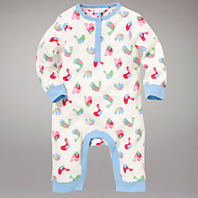 Buy John Lewis Bird Onesie, Multi Online at johnlewis.com