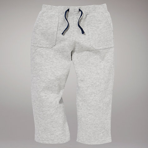 Buy John Lewis Joggers, Grey Marl Online at johnlewis.com