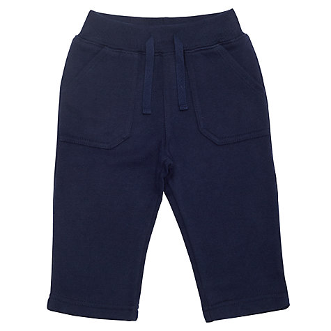 Buy John Lewis Jogging Bottoms, Navy Online at johnlewis.com
