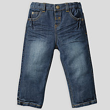 Buy John Lewis Straight Leg Jeans, Denim Online at johnlewis.com