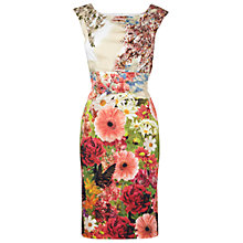 Buy Phase Eight Flora Dress, Multi Online at johnlewis.com