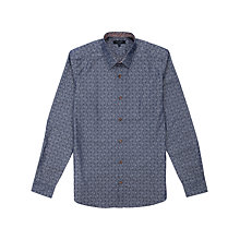Buy Ted Baker Brillan Floral Jacquard Shirt Online at johnlewis.com