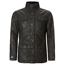 Buy John Lewis Quilted Wax Coated 4 Pocket Jacket Online at johnlewis.com