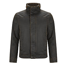 Buy John Lewis Faux Shortie Borg Collar Jacket Online at johnlewis.com