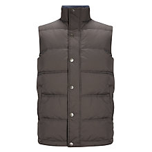 Buy John Lewis Padded Gilet, Light Brown Online at johnlewis.com
