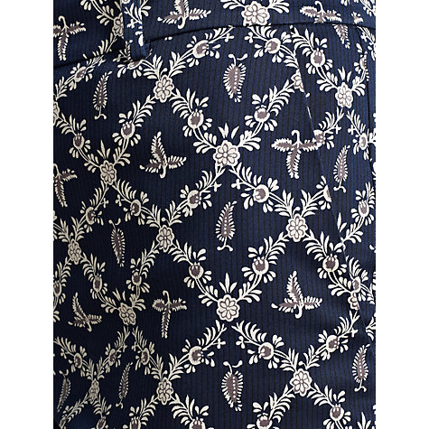 Buy Somerset by Alice Temperley Manor Print Trousers, Midnight Online at johnlewis.com
