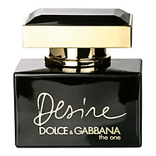 Buy Dolce & Gabbana The One Desire Eau De Parfum Online at johnlewis.com