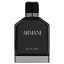 Buy ARMANI Eau De Nuit Eau de Toilette Online at johnlewis.com