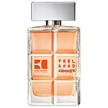 Buy Boss Orange Man Feel Good Summer Eau de Toilette Online at johnlewis.com