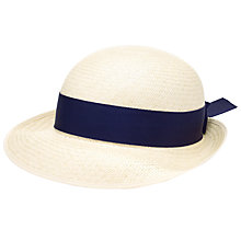 Buy Daiglen School Girls' Summer Boater Hat Online at johnlewis.com